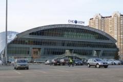 Крупнейший в Европе горнолыжный всесезонный комплекс «СнежКом», г. Красногорск, «Сего-голубой тон»  фото 2