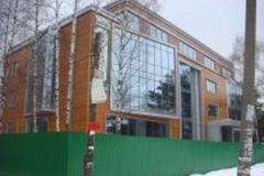 Офисный центр, Жуковка, Рублевское шоссе, «Серо-голубой тон»