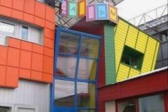 Выставочный павильон Фасады