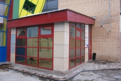 Выставочный павильон Фасады  фото 3