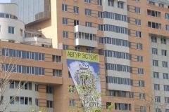 Жилой дом, Комсомольский пр-т, «Голубой тон»